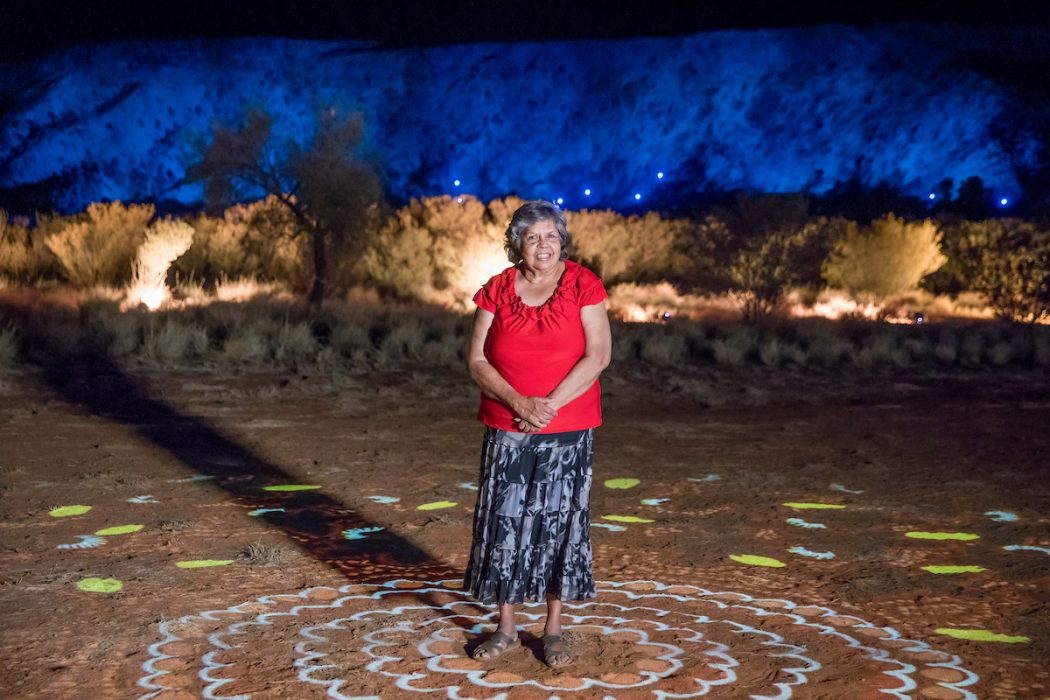 Parrtjima, a festival in light alice springs desert park