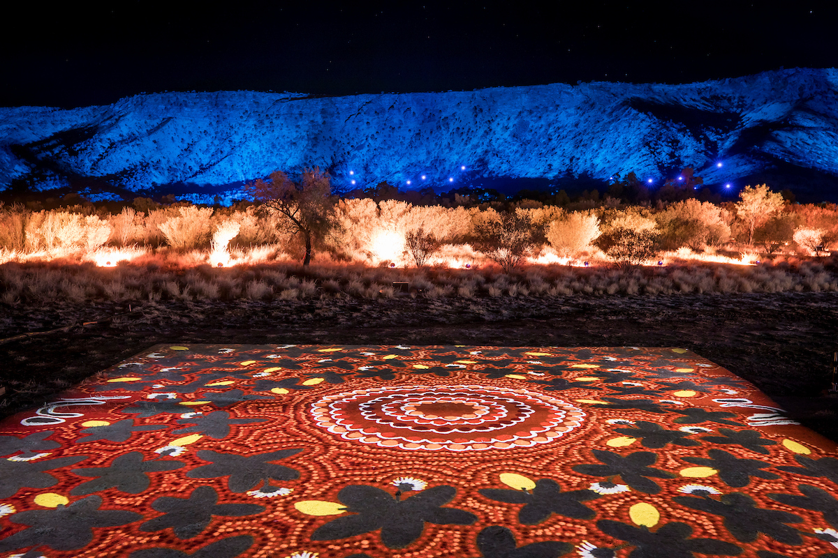 Parrtjima, a festival in Light, Alice Springs