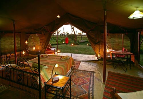 eco camp kenya