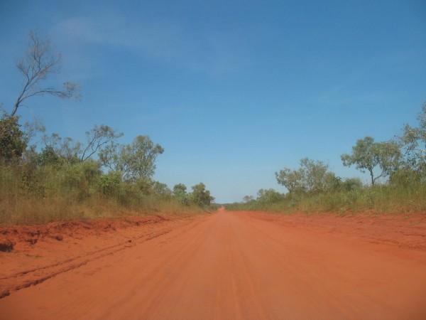 red earth road australia
