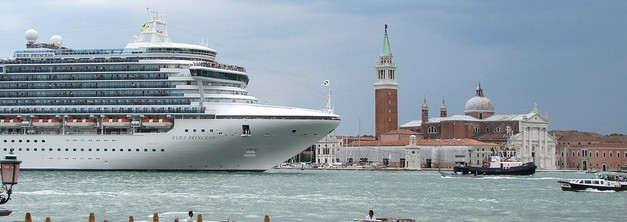 Ruby Princess arrives in Venice
