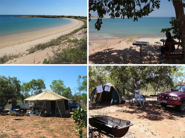 gnylmarung aboriginal camp site