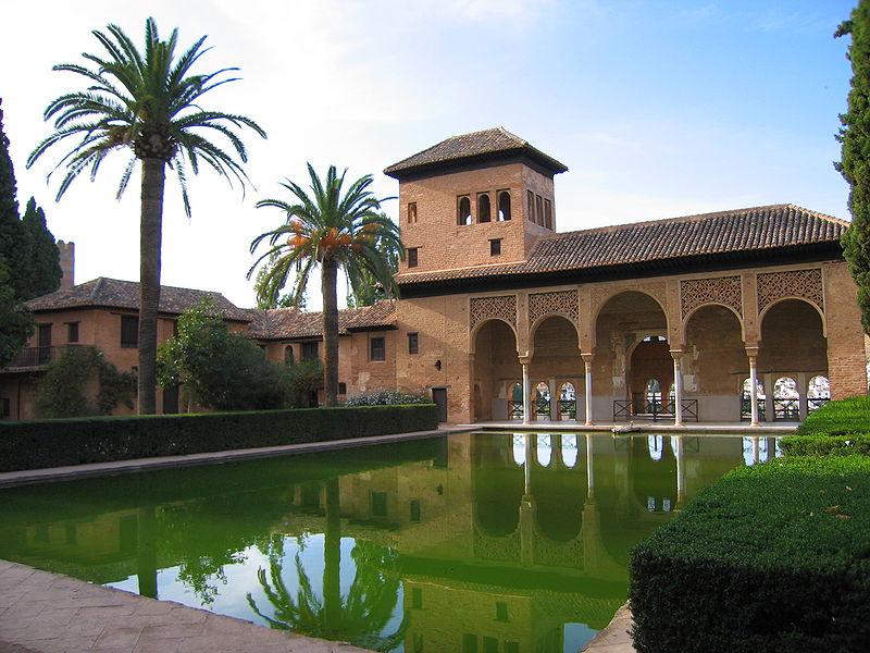 palacio del portico alhambra