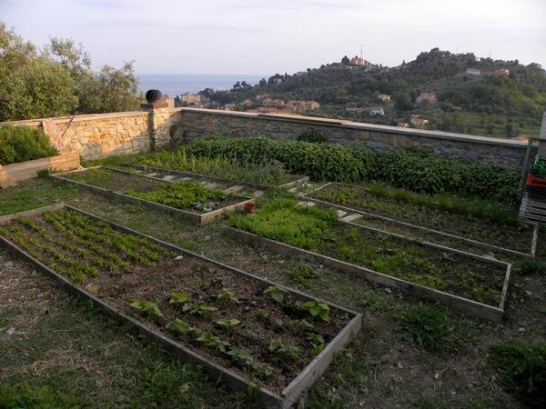 italian agriturismo san martino garden