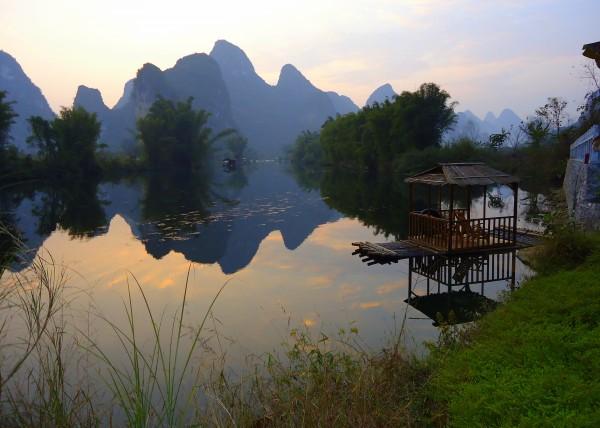 Yangshuo river china