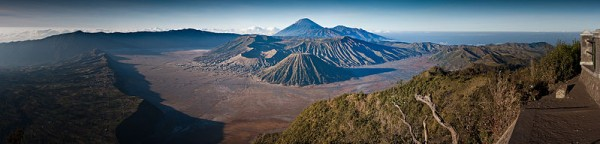 Mount Bromo panorama by Robert Machacek.