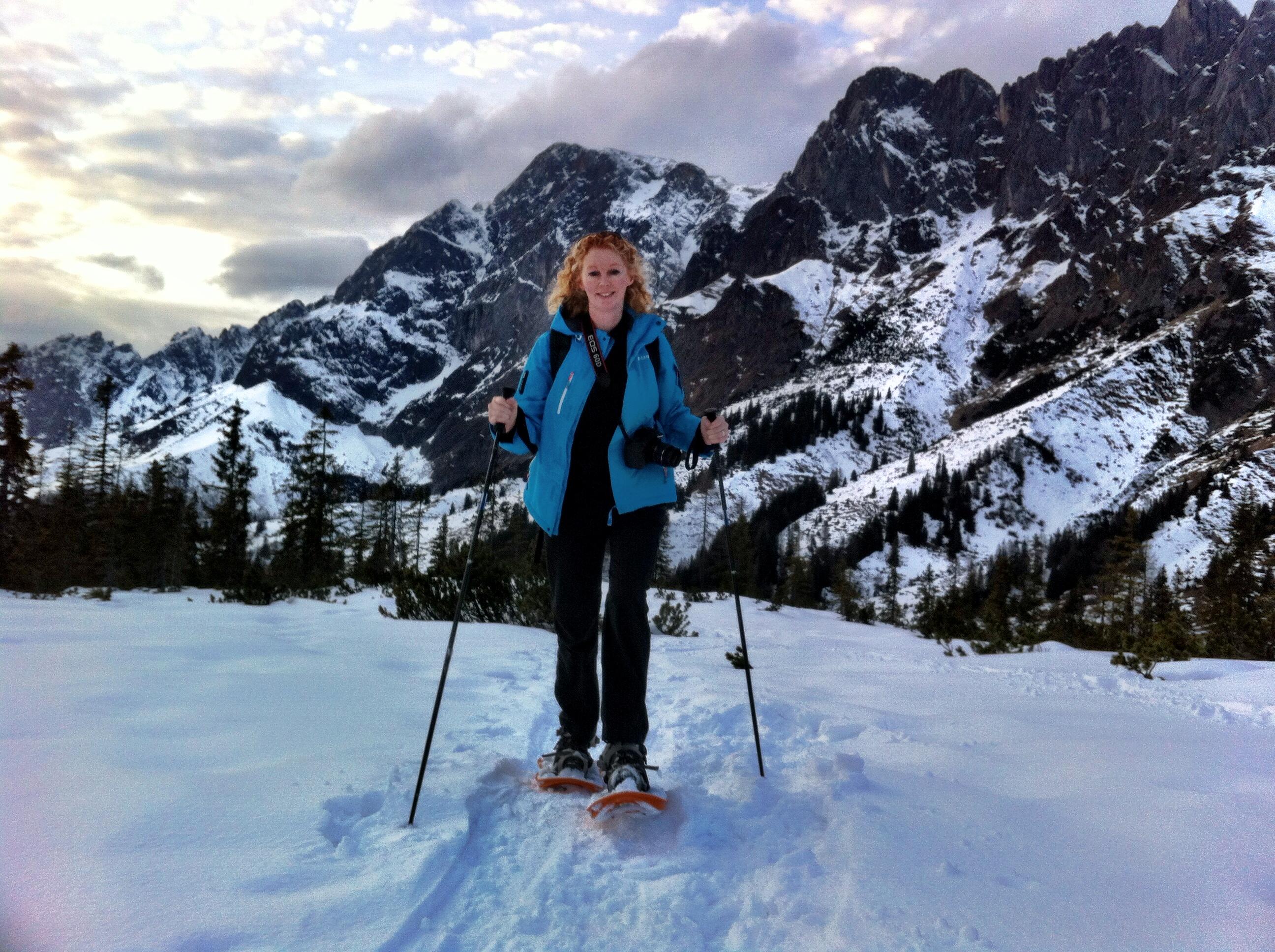 snowshoeing austria