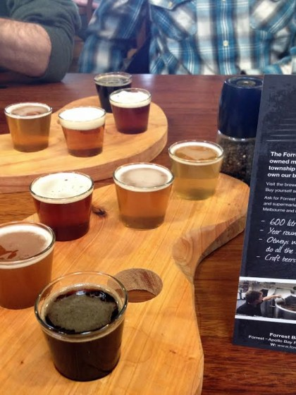 forrest brewing company tasting