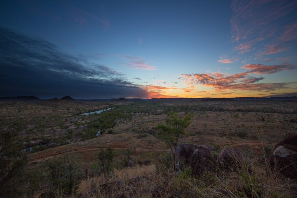 sunset kimberley
