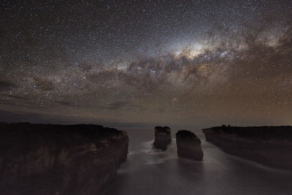 milky way australia