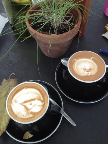 Coffee art cafe vue