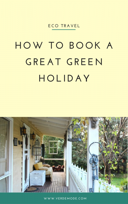 book green holiday