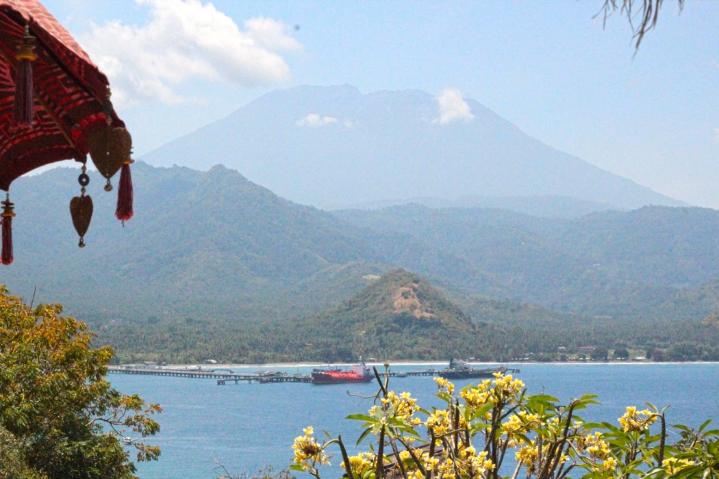Mount Agung is the most sacred mountain in Bali.