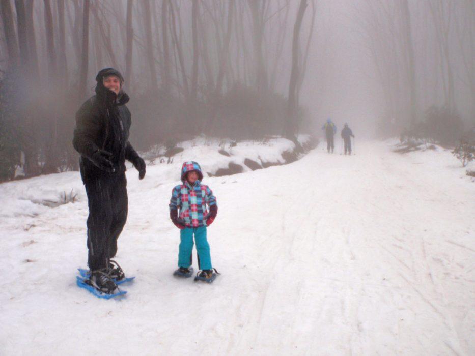 Snowshoeing at Lake Mountain Resort