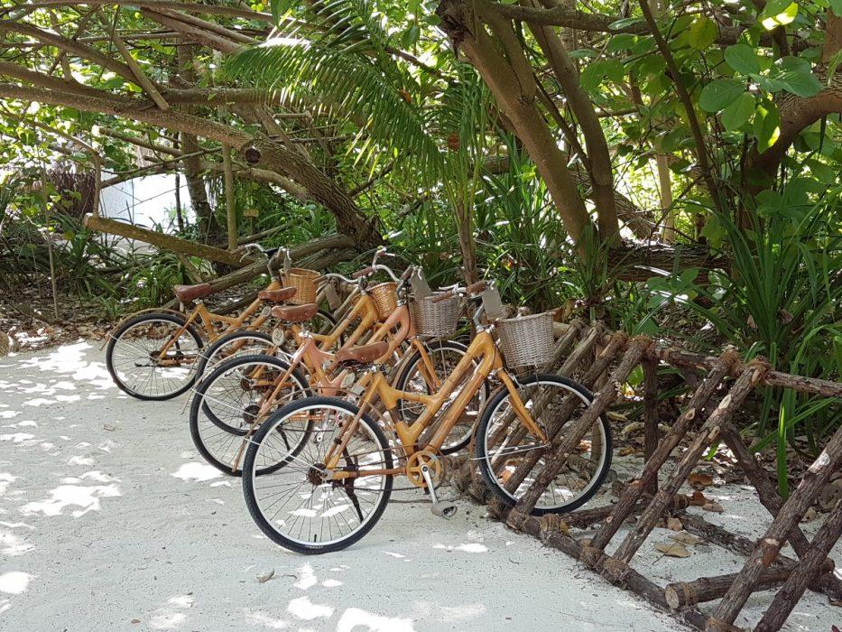 bamboo bikes gili lankanfushi