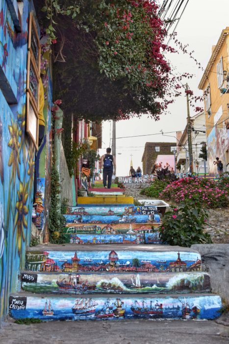 Valparaiso City of steps