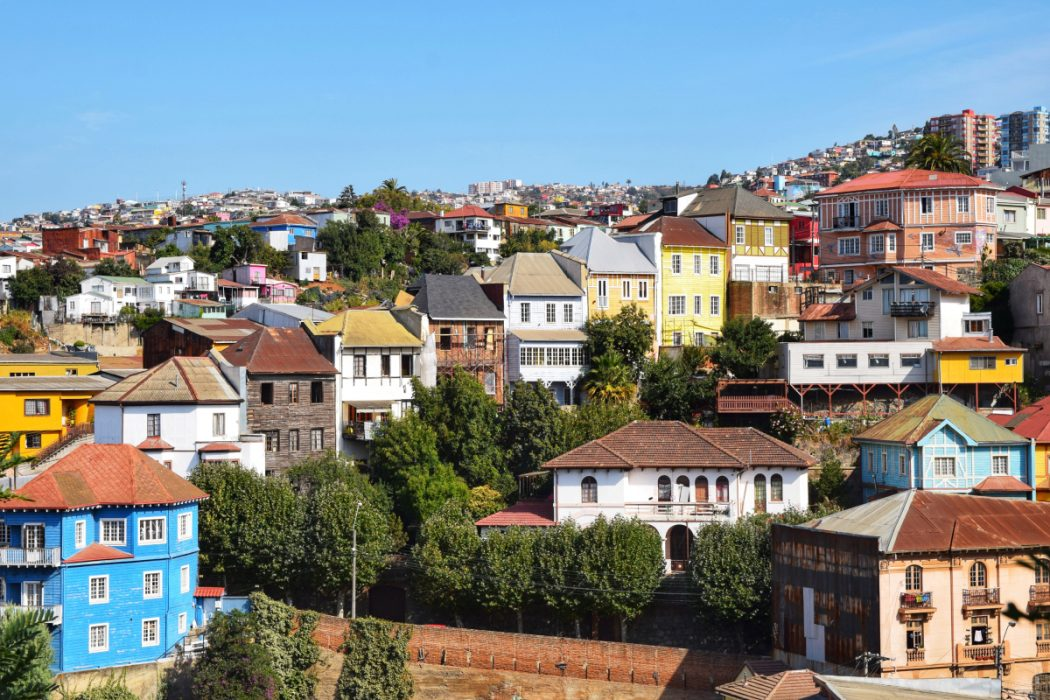 View across Valparaiso