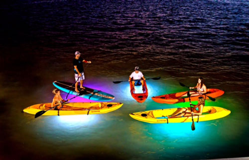 Night Kayaking key west